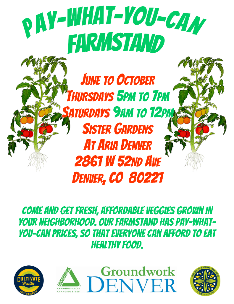 Farmstand Flyer sister garden_single