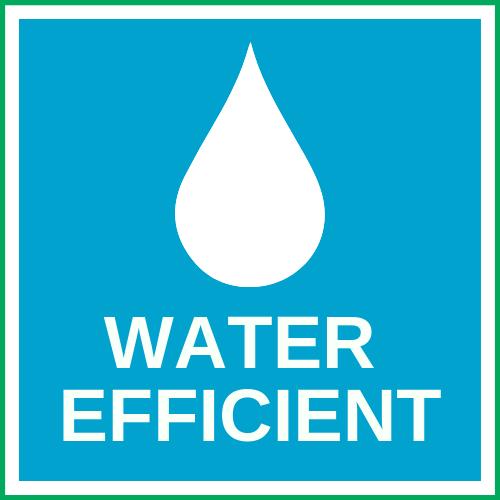 WATER EFFICIENT